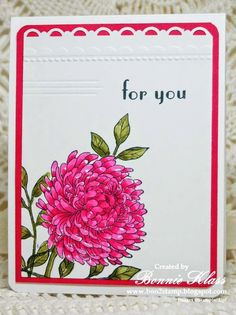 Stamping with Klass: Forever Florals Mambo