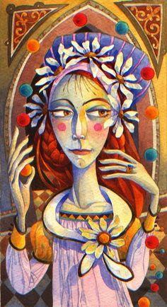 Американский художник Дэвид Галчутт.(David galchutt) Иллюстрации