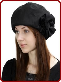Берет Мальвина - Женские шапки - Из плащевой ткани