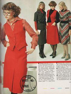 Syysmuotia Kotiliesi-lehdessä 1976 (Hopeapeili-blogi)
