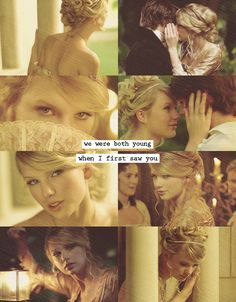 Love Story by Taylor Swift (can't believe I'm posting Taylor Swift, but it is pretty...)