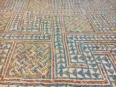 Tipasa Mosaic, Algerie.