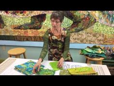 Susan Carlson Fabric Collage Online Master Class Excerpts   Susan Carlson Quilts