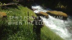 """Spirit Power of Dream: When the Elders Ask"" A digital story poem by Sandy Brown Jensen."