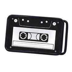 e1f0ae68c285 Buy Buckle Rage Unisex Vintage Cassette Tape Player Music Belt Buckle -  Topvintagestyle.com ✓