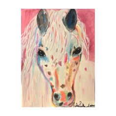 caballo Colorado painting by Helen