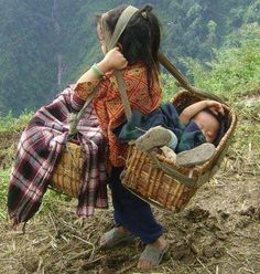 Big Sister Choephelling Tibetan Refugee India