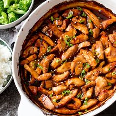 So simple and tasty - the whole family will love this baked teriyaki chicken.