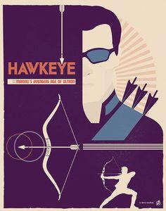 "Hawkeye || Clint Barton || by Matt Needle || 786px x 1000px || #fanart || $35, 11"" x 14"""