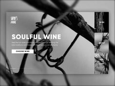 Winery Website Design by tubik on Dribbble Website Layout, Web Layout, Layout Design, Website Ideas, Design Design, Homepage Design, App Ui Design, Creation Site, Site Web