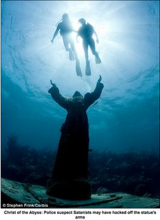 Key Largo Christ of the Abyss...