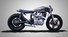 This guzi looking beast is a Honda CX (550? 650) Thanks to Art Stoop for the correction and extra bike knowledge =)