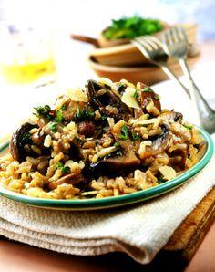 authentic Italian food risotto