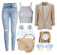 """""""."""" by erixx ❤ liked on Polyvore featuring moda, H&M, Glamorous, Wallis, adidas, Kenneth Cole, Sara Designs, Marc by Marc Jacobs, women's clothing y women's fashion"""