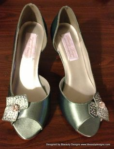 Tiana Couture Style Adult Costume Pair Pumps Heels by Bbeauty79