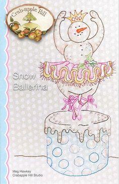 Crabapple Hill Studio Snow Ballerina 436 Hand by DebiCreations, $9.99