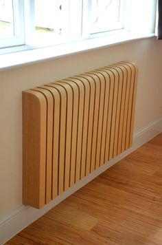 Wooden Ash Radiator Cover (From Cool Radiators? It's Covered!)