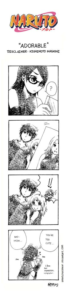 Naruto Doujinshi - Adorable by SmartChocoBear. How it should have been...