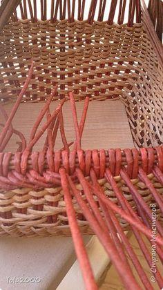 Поделка изделие Плетение мои новые работы Трубочки бумажные фото 9