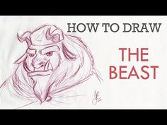 How To Draw The Beast - YouTube