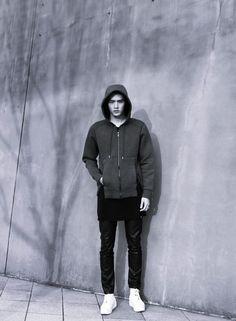 Mensfashion  gray #hoody