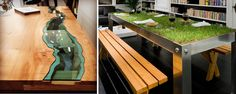 20 Of The Most Unique Desk and Table Designs Ever - dzzyn