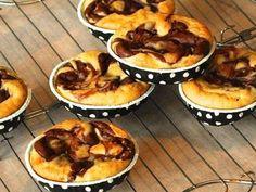 Vegane Schokoladen-Käsekuchen-Muffins -