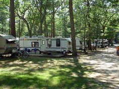 Whispering Surf Camping Resort at Pentwater, Michigan
