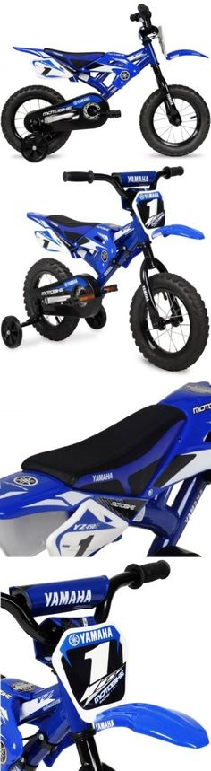 Bicycles 177831: 12 Yamaha Moto Child S Bmx Bike With Motocross-Style Seat -> BUY IT NOW ONLY: $50.57 on eBay!