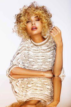 Rokk Ebony - Romance the Rebel #rokkebony #aw2016 #blonde #curles #hair #блонд #кудри #волосы #стиль #мода #укладки #fashion Hair: Rokk Ebony Creatives Photo: Elizabeth Kinnaird Styling: Melissa Nixon Make-up: Sarah Baxter
