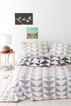 Assembly Home Stacked Triangle Quilt #urbanoutfitters