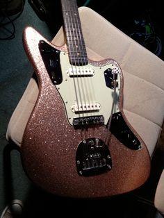 Guitar Solo, Guitar Art, Music Guitar, Cool Guitar, Guitar Inlay, Fender Jaguar, Music X, Studio Gear, Guitar Painting