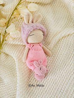 Crochet Toys Patterns, Stuffed Toys Patterns, Crochet Bunny, Crochet Hats, Little Darlings, Cute Bunny, Free Pattern, Teddy Bear, Dolls