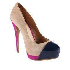 Scarpe Aldo autunno inverno 2012 2013, pumps colorate con cap toe