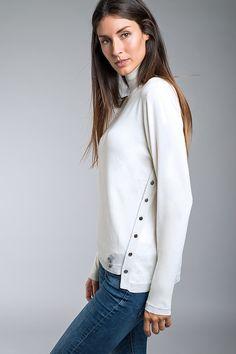 White Jumper, Normcore, Sweaters, Style, Fashion, Crew Neck, Tricot, Swag, Moda