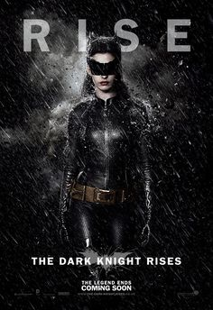 The Dark Knight Rises character poster for Catwoman played by Anne Hathaway.