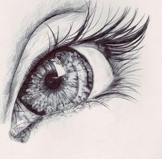 drawing art Black and White Cool beautiful eye Sketch Eye Sketch, Drawing Sketches, Drawing Art, Sketches Of Eyes, Magic Drawing, Pencil Art, Pencil Drawings, Drawings Of Faces, Realistic Eye Drawing