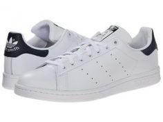 adidas Originals Stan Smith (White/White/Navy) Men's Classic Shoes