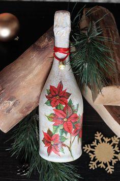 """Готовим """"сани"""" в октябре или шампанское декупаж-лучший новогодний подарок! - Ярмарка Мастеров - ручная работа, handmade"""