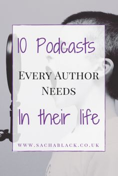 10 Podcasts Every Author Needs in Their Life - SACHA BLACK - Welcome to our website, We hope you are satisfied with the content we offer. Writing Websites, Book Writing Tips, Writing Workshop, Writing Quotes, Fiction Writing, Writing Resources, Writing Help, Writing Skills, Writing Prompts