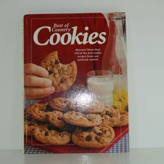 Best Of Country Cookies, 250 Recipes From Taste Of Home, 1999