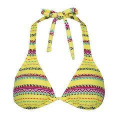Roxy Dream Weaver Swimwear Top ($34) ❤ liked on Polyvore