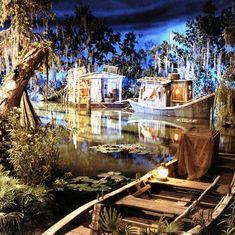 Pirates of the Caribbean bayou, Disneyland .last ride for the day! Disney Parks, Parc Disneyland, Disneyland World, Vintage Disneyland, Disneyland Resort, Disneyland History, Blue Bayou Disneyland, Disney World Rides, Heineken