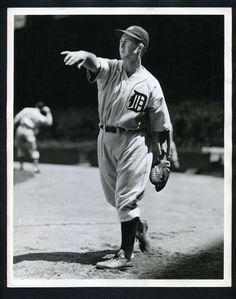 Detroit Tiger, BIRDIE TEBBETTS 1938  - Vintage Baseball Press