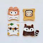 938 個讚,61 則留言 - Instagram 上的 A mom for 2👦 & 2👧(@kitchen_maotouying):「 Today is my favorite toast art again😉😉 #characterfood #toast #toastart #foodforfun #food #foodie… 」