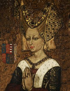 A portrait of Margaret of Anjou, wife of Henry VI and Queen of England at the start of the Wars of the Roses | Flickr -