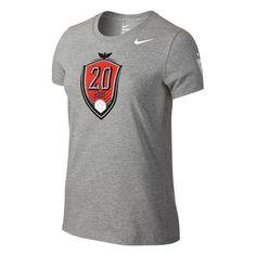 ecdcb3a47d7  29.99 Add to Cart for Price - Nike USA Abby Wambach Hero Women s T-shirt  (Grey)