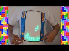 Fan Creates T-Shirt That Plays Tetris - http://videogamedemons.com/news/fan-creates-t-shirt-that-plays-tetris/