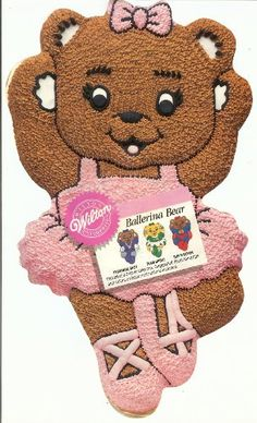 0aee9efc8f Amazon.com  Wilton Ballerina Ballet Cheerleader Gymnastics Super Bear Cake  Pan (2105-2021