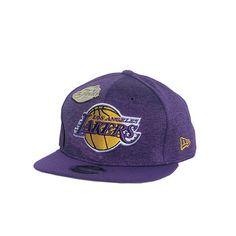 ef9bb5d7e6d New Era Los Angeles Lakers Finals Snapback w  Commemorative Pin